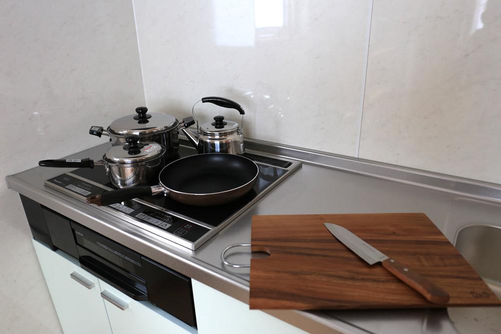 リスの家 キッチン