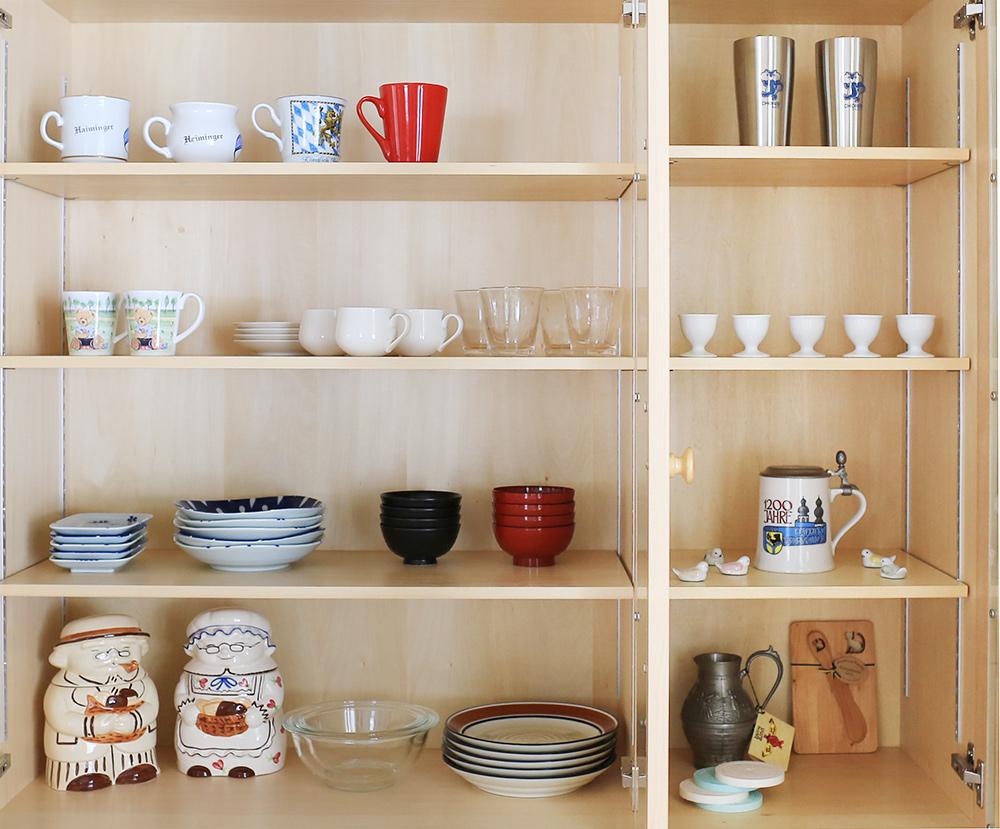 リスの家 食器類