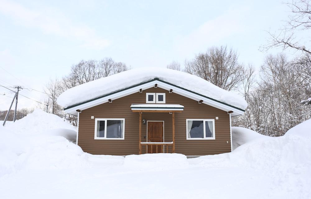 リスの家・冬